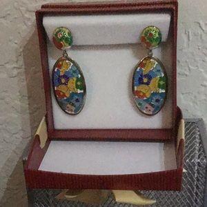 Jewelry - Honduran artisan earrings...stainless steel